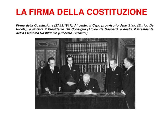 la-firma-delle-costituzione