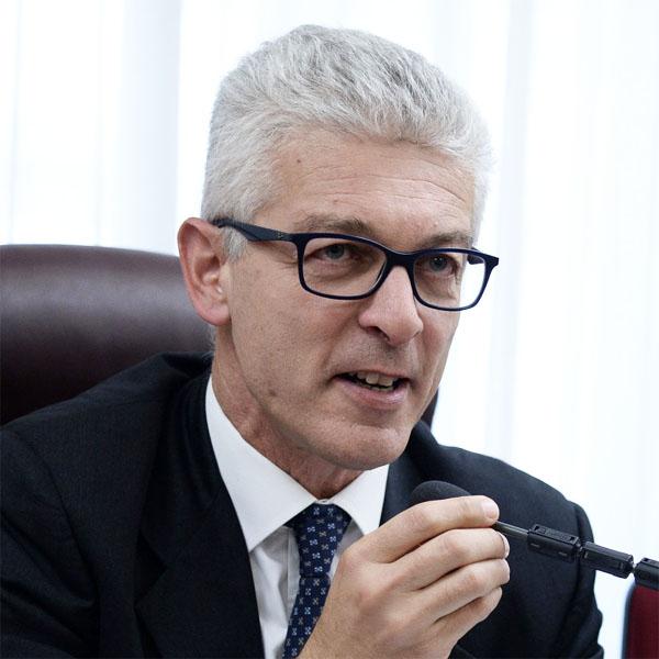 Il senatore e presidente della Commissione Antimafia, Nicola Morra